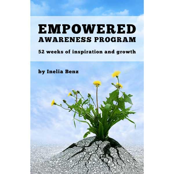 Weekly Empowerment Workbook | Manifest your Life Easily | Inelia Benz