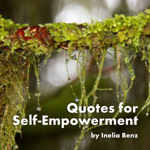 Book Cover: Quotes for Self-Empowerment by Inelia Benz